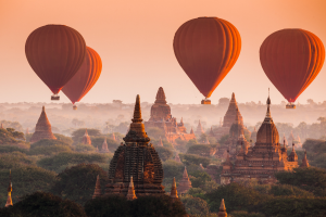 Myanmar Hot Air Balloons