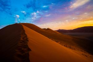Namibia Desert Hills View