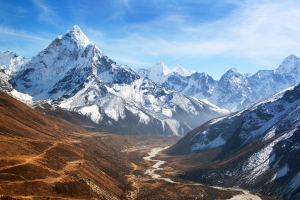 Nepal Mountain View 2