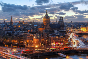 Netherlands City View
