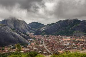 Nigeria Mountain City View