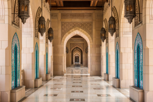 Oman Inside Building View