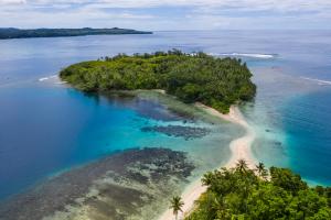 Papua New Guinea Island View