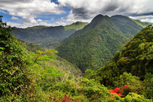 Puerto Rico Mountain View