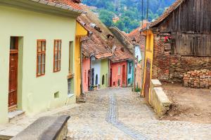 Romania Street View
