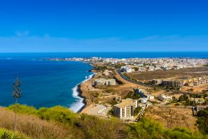 Senegal City Beach View