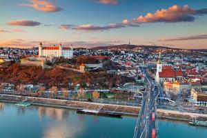 Slovakia City Water View