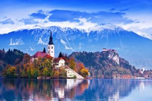 Slovenia City Mountain View