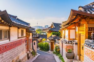 South Korea City View