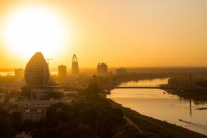 Sudan Building Water View
