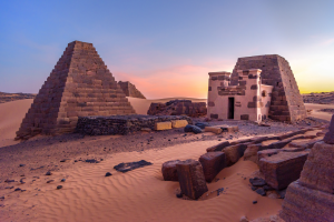 Sudan Pyramid Photo