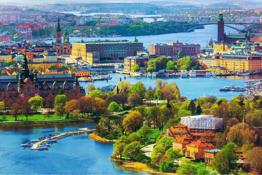 Sweden City Photo