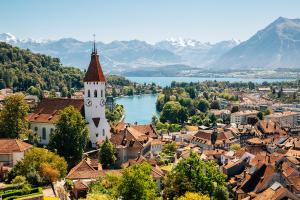 Switzerland City Mountain View