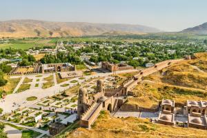 Tajikistan City View