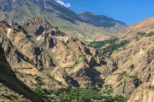 Tajikistan Mountain View