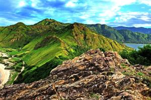 Timor-Leste Landscape Mountain View