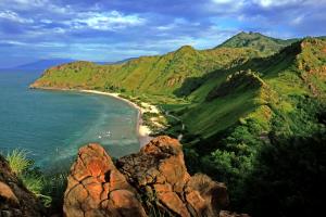 Timor-Leste Mountain Landscape Water View