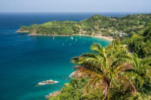 Trinidad and Tobago Ocean Island View