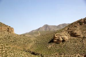 Turkmenistan Land Mountain View