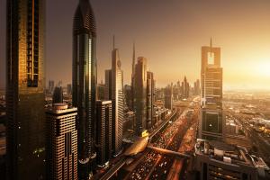 United Arab Emirates City View