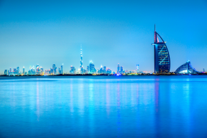 United Arab Emirates Water City View