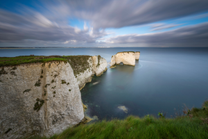 United Kingdom Cliff Water View