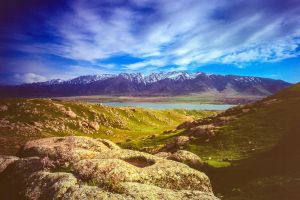 Uzbekistan Mountain View