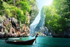 Vietnam Cliff Water View