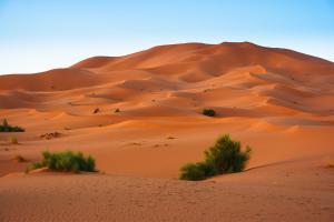 Western Sahara Desert Hills