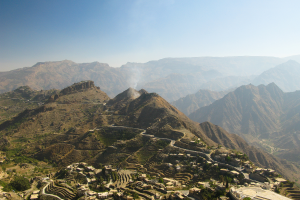 Yemen Mountains View