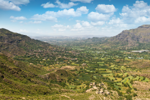 Yemen Landscape View