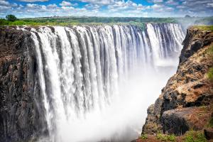 Zimbabwe Waterfall