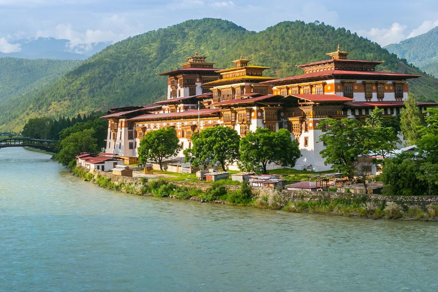 Bhutan Water City View