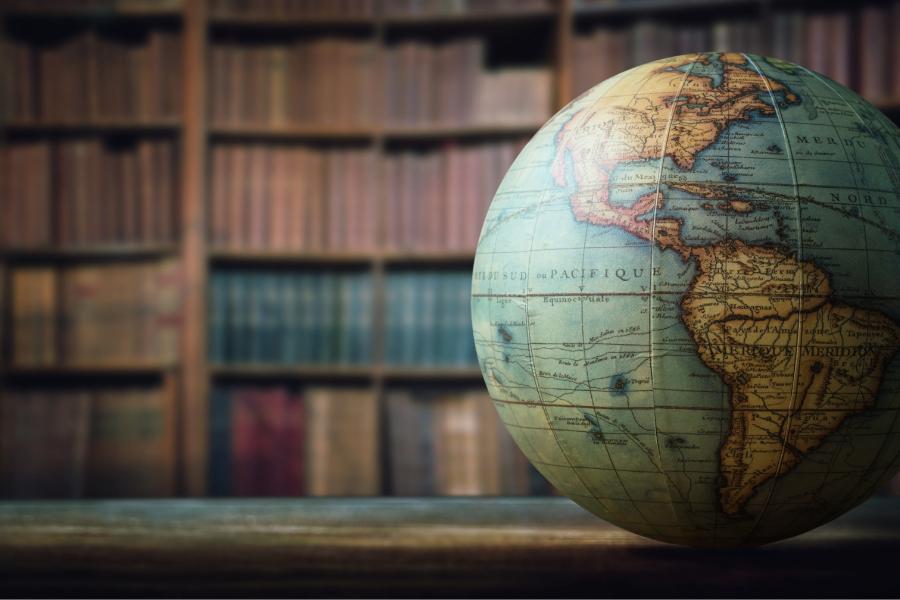 Library Globe Image