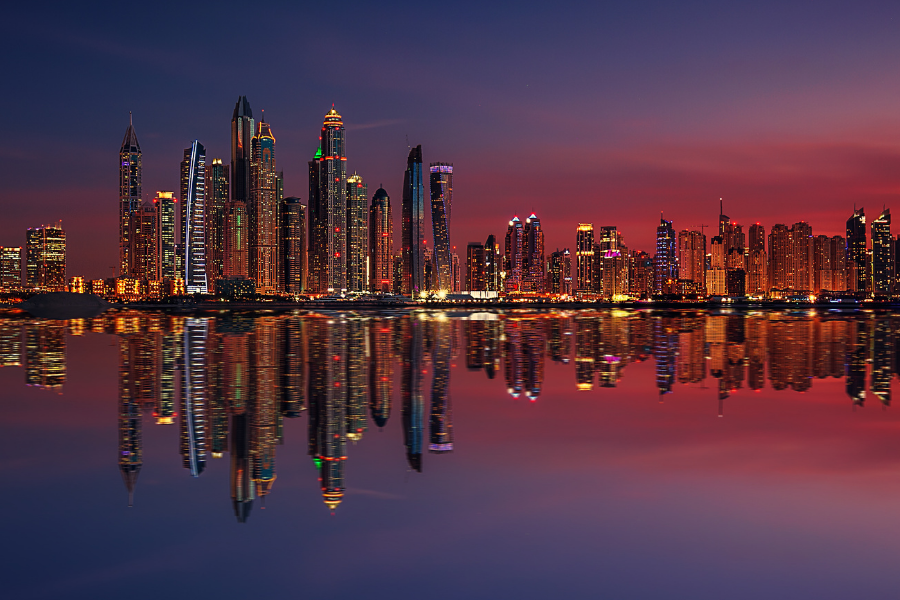 United Arab City Water View