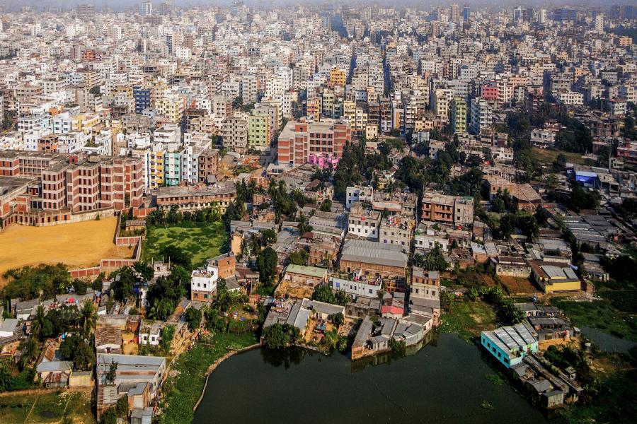 Bangladesh City View