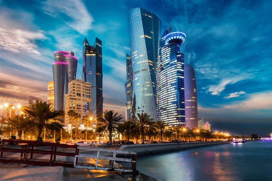 Qatar City Water View