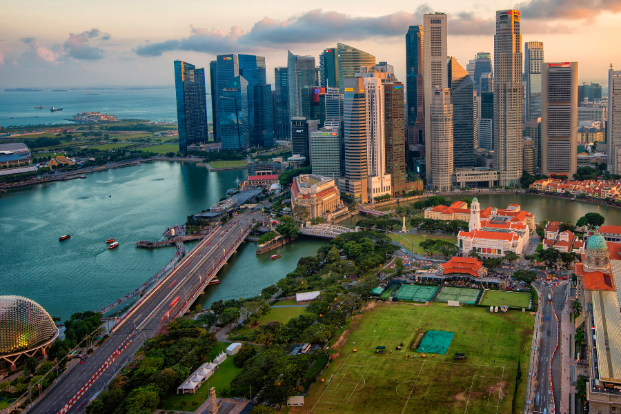Singapore City and Water